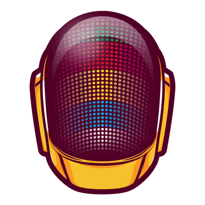 Preview for Create a Daft Punk GIF Animation Using Illustrator and Photoshop