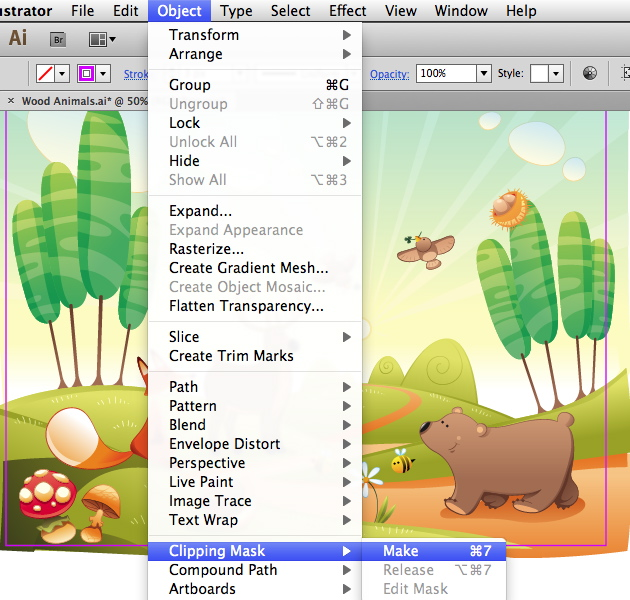 Link toQuick tip: four ways to crop a vector illustration in adobe illustrator