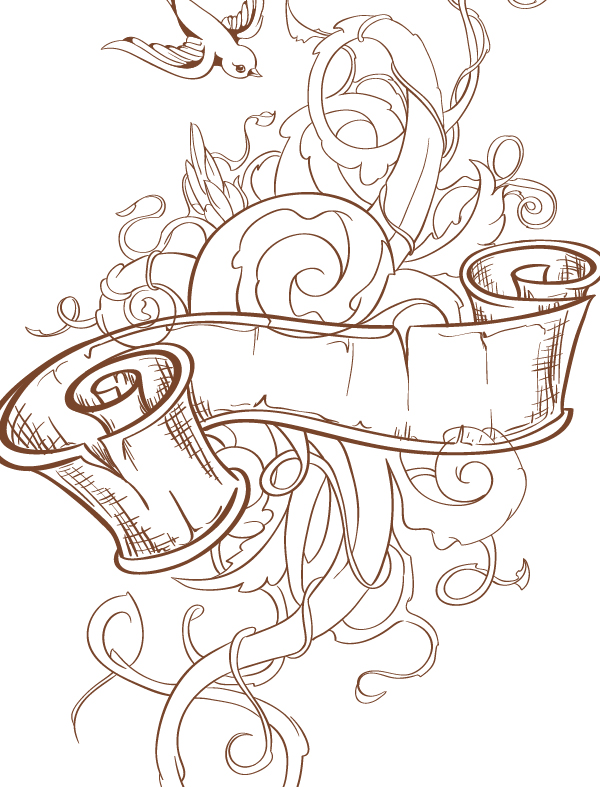 Vector Ink Anyone Create An Abstract Tattoo Design In Adobe Illustrator
