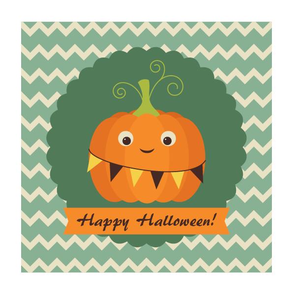 Create an Easy, Retro Pumpkin Card in Adobe Illustrator