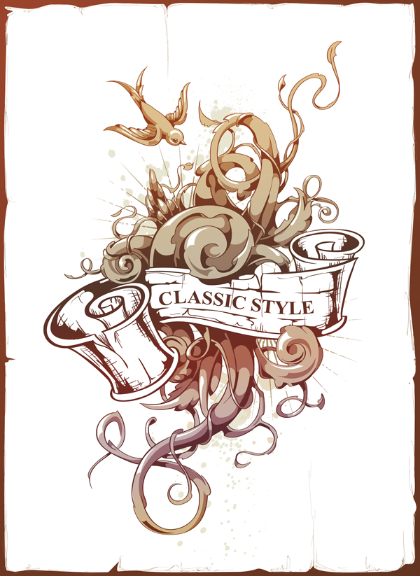Link toVector ink anyone? create an abstract tattoo design in adobe illustrator