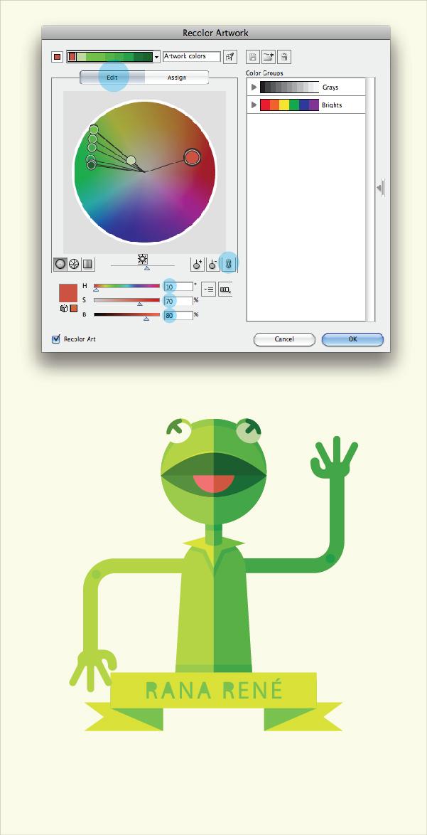 Create a Geometric Kermit the Frog Illustration in Adobe Illustrator