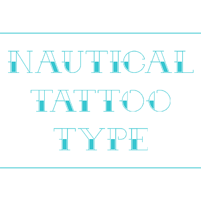 Preview for Arr Matey! Create a Nautical Themed Tattoo Alphabet in Sketch