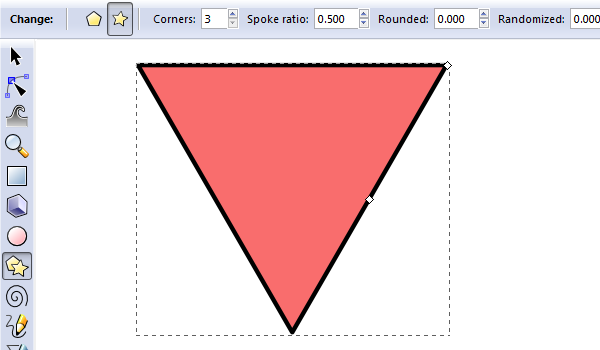 draw triangle