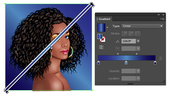 Glitter Portrait Tutorial