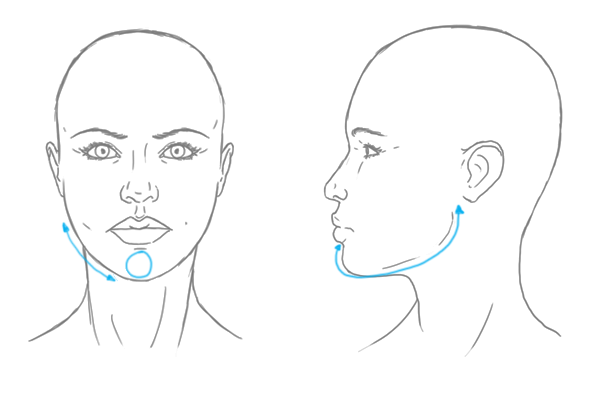 Line Drawing Female : Differences between male and female portraits