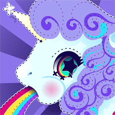 Preview for Create a Rainbow Vomiting, Kawaii Unicorn in Adobe Illustrator