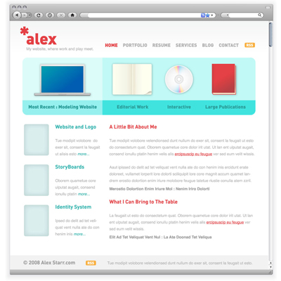 Preview for Use Adobe Illustrator to Create a Clean Website Layout