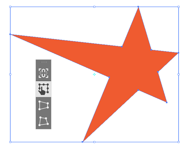 where is free transform tool in illustrator