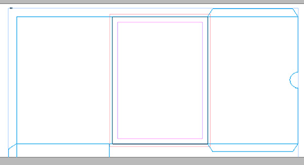 design a custom, print ready pocket folder in adobe indesign, Powerpoint templates