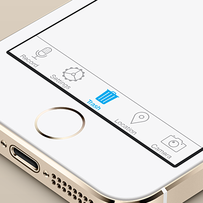 Preview for Create an iOS 7 Inspired Tab Bar Icon Set in Adobe Illustrator