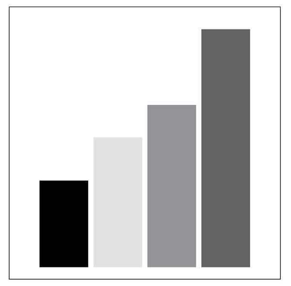 column graph greyscale