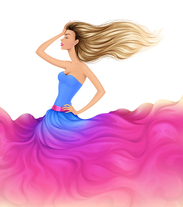 Link toHow to create a colorful fashion illustration in adobe illustrator - part 2