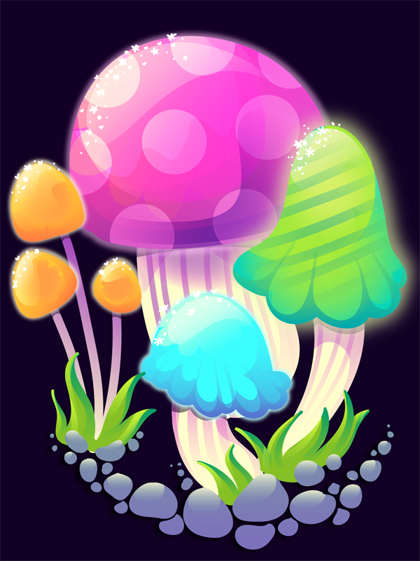 Create quick psychedelic mushrooms with the blob brush tool over com share create quick psychedelic mushrooms with the blob brush tool you can download now toneelgroepblik Image collections