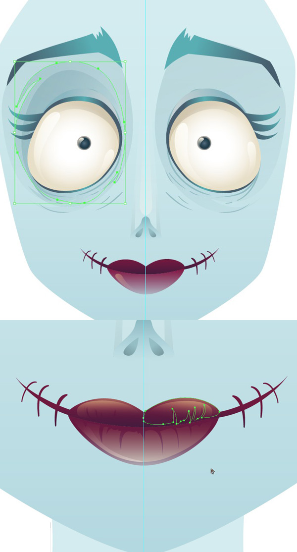 Create A Tim Burton Inspired Bride Of Frankenstein In