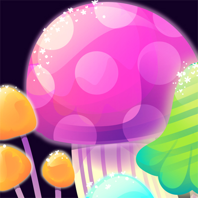 Preview for Create Quick, Psychedelic Mushrooms With the Blob Brush Tool