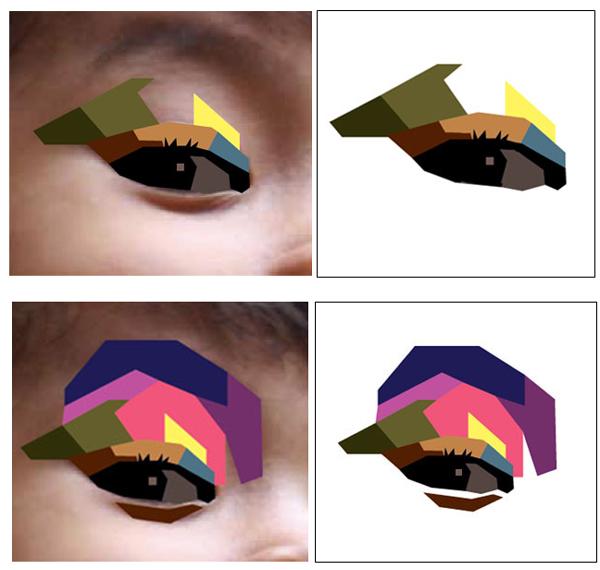 Bagaimana Membuat Gambar Potret Vector Geometris Dengan Style Wpap