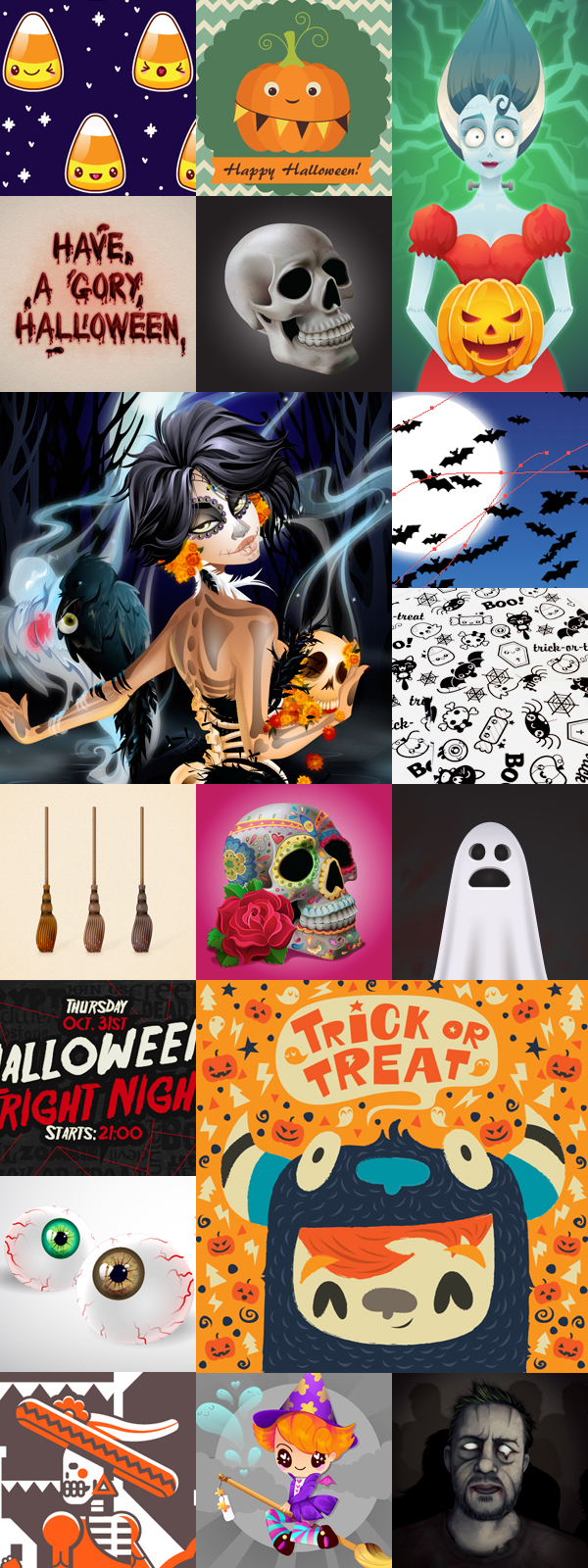 Halloween and Day of the Dead on Tuts+