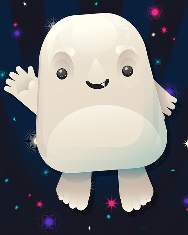 Link toCreate a cute adipose from doctor who in adobe illustrator