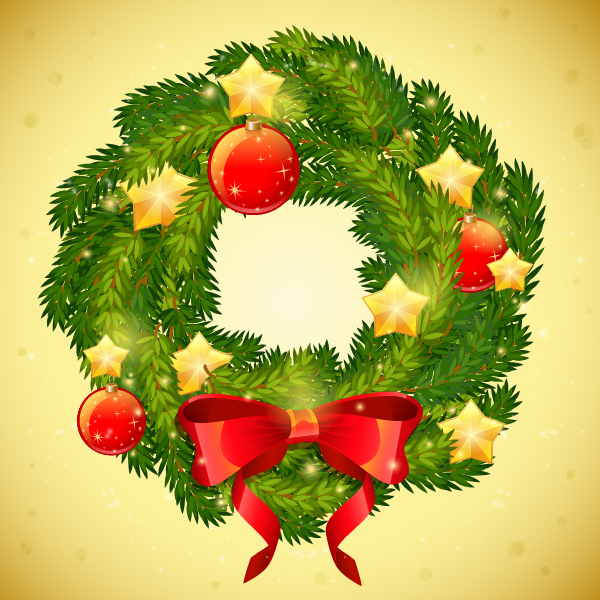 Create A Detailed Festive Christmas Wreath In Adobe Illustrator