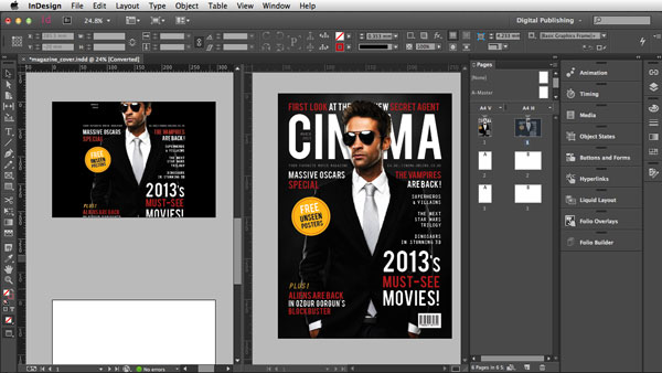 Link toDigital publishing with indesign cc: preferences and customization
