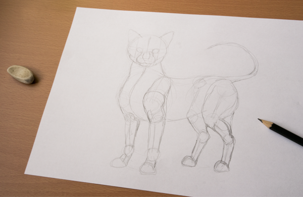 Wolf Poses Sketch Sketch The Pose First on a