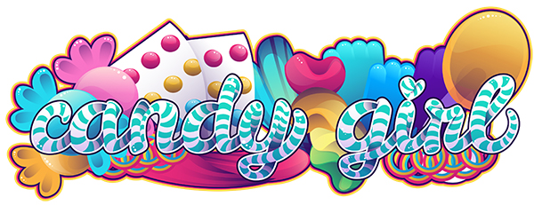 Link toHow to create a candy striped text treatment with colorful candy accents