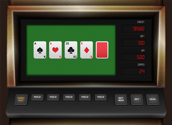 Link toCreate a video poker game interface in adobe illustrator - part one