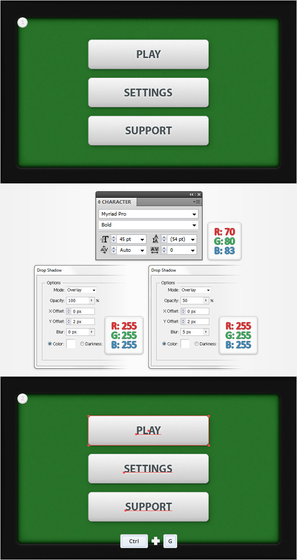 Poker Game Interface