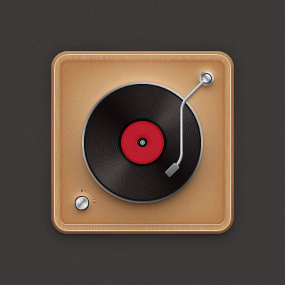 Create A Vinyl Record Player Icon In Adobe Illustrator