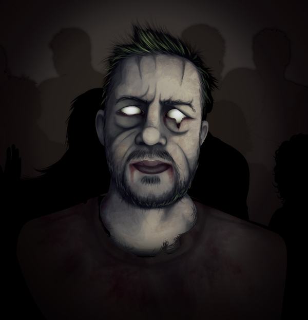 From Editor To Zombie Create An Undead Portrait From A
