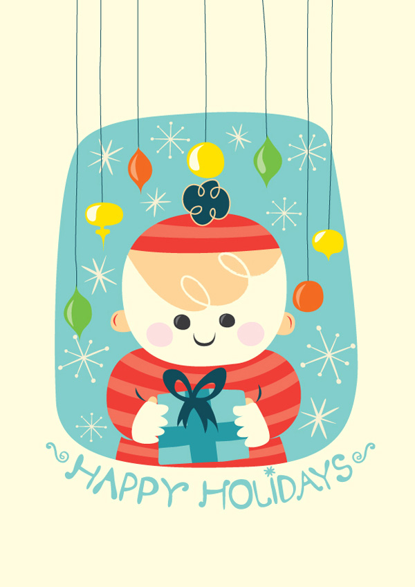 Adobe Illustrator Tutorial Create A Christmas Greeting Card ...