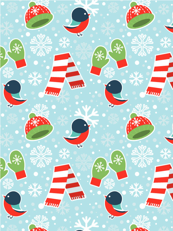 Link toCreate a cute winter seamless pattern in adobe illustrator