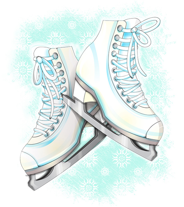 Link toHow to create ice skates in a softly drawn vector style in illustrator