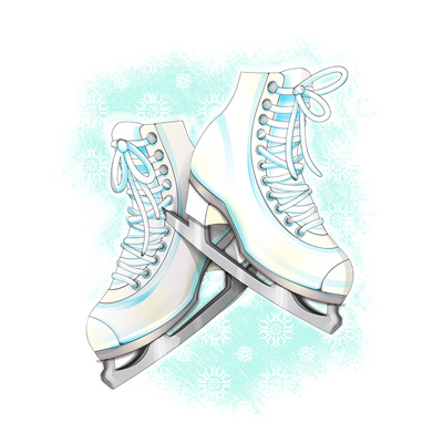 Preview for How to Create Ice Skates in a Softly Drawn Vector Style in Illustrator