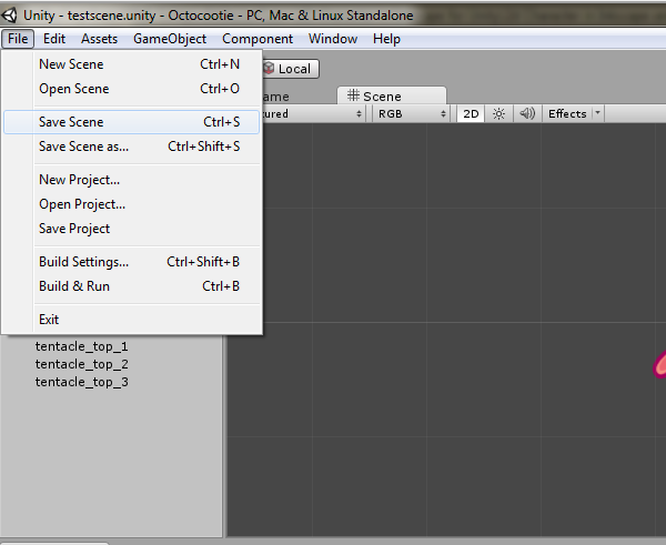 Create a 2D Sprite Sheet for Unity 4 3 in Inkscape