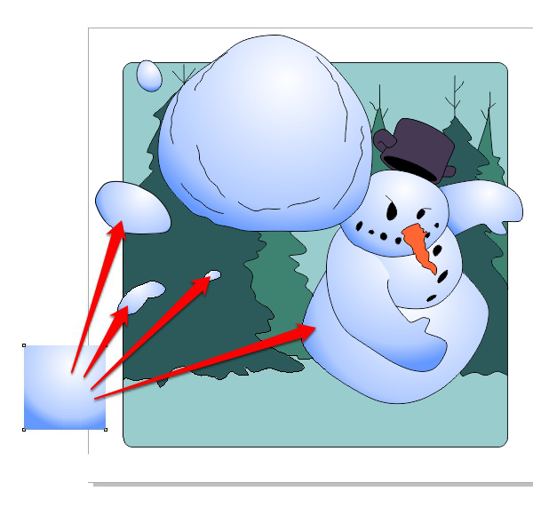 Vector-App-Icon-Snowball-Fight--Color-Picking