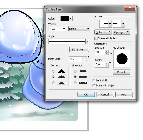 Vector-App-Icon-Snowball-Fight--Snowball-Outline