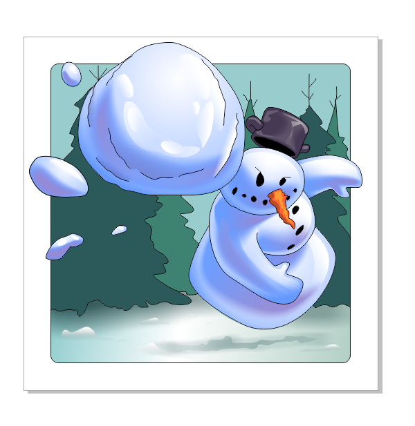 Vector-App-Icon-Snowball-Fight--Snowman-Shades-2