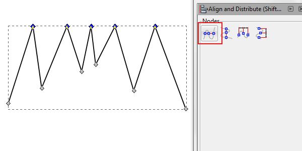 align top nodes