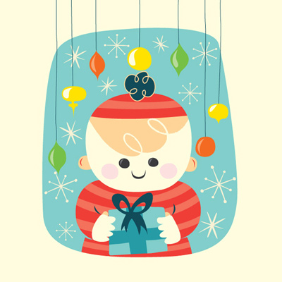 Preview for Create a Vintage-Style Christmas Card in Adobe Illustrator