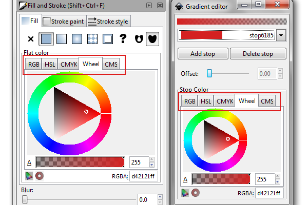 types of color picking