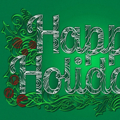 Preview for How to Create a Paper Quill Holiday Greeting in Adobe Illustrator
