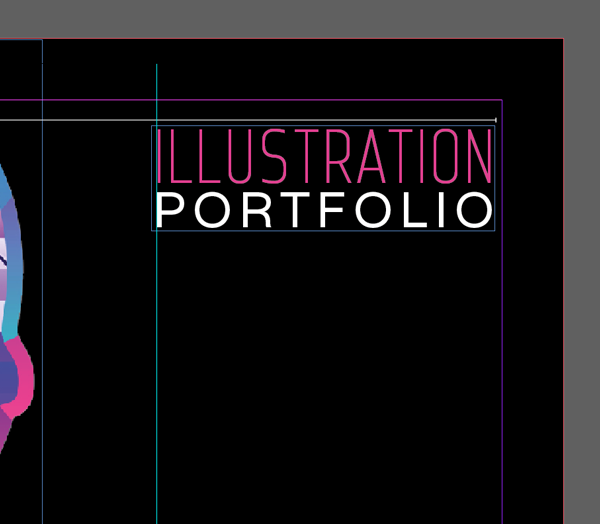 cover page design for portfolio