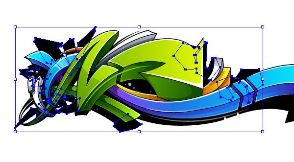 Create A Wild Graffiti Style Arrow Design In Adobe Illustrator