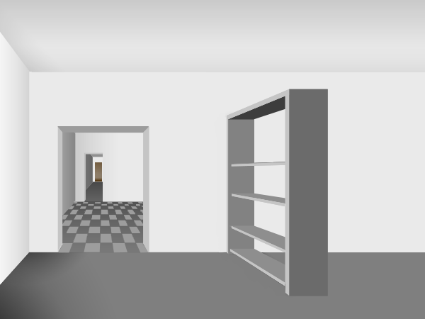 1 Point Perspective Room Easy