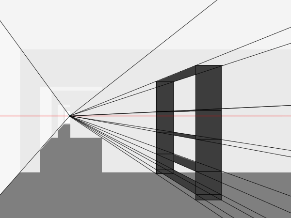 Technical Drawing For Beginners One Point Perspective