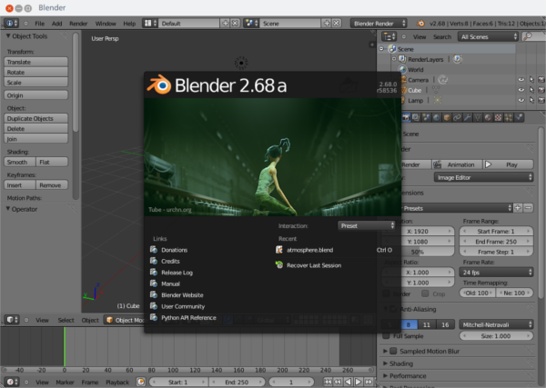 Blender UI