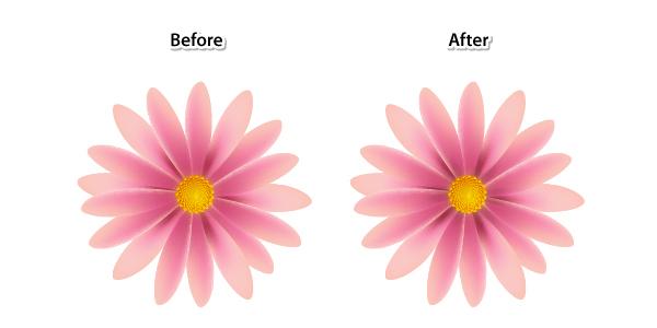 Create Simple Flowers With Gradient Mesh in Adobe Illustrator