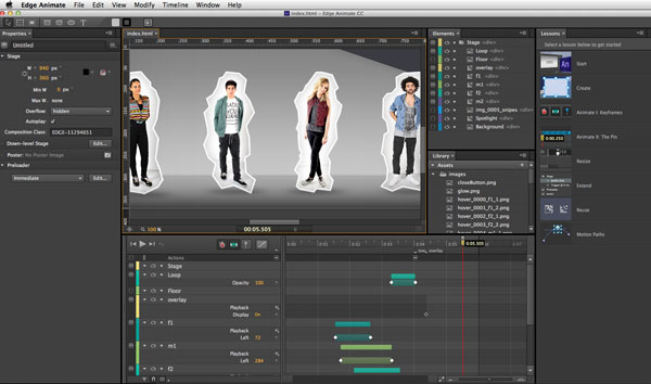 Digital Publishing With Indesign Cc Adobe Edge Animate Over
